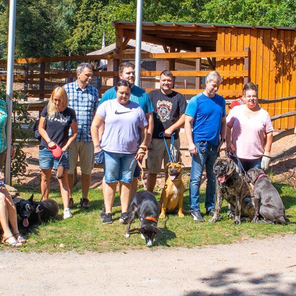 Zoobesuch der Welpengruppe – August 2019