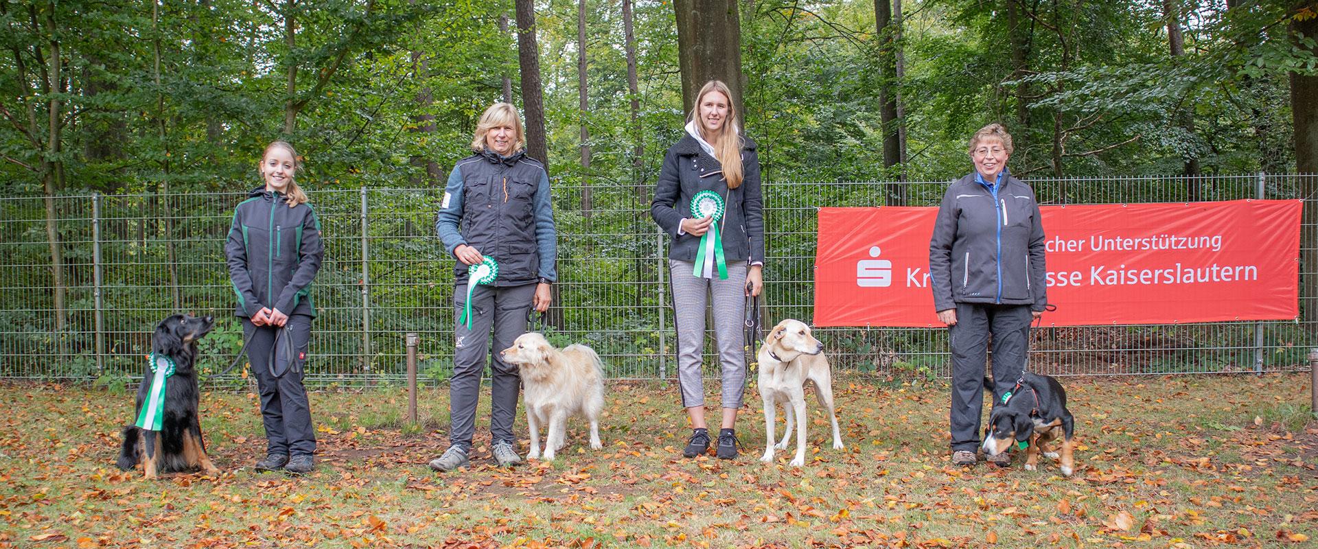 Rally-Obedience Kreisgruppenmeisterschaft KG01 – Oktober 2019